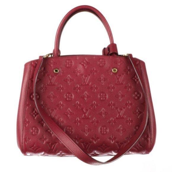 💎✨Authentic✨💎 LOUIS VUITTON Leather MM Bag